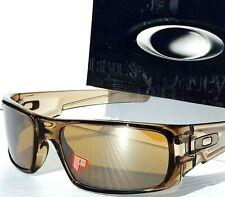 NEW* OAKLEY CRANKSHAFT Brown Crystal Sepia POLARIZED Tungsten Sunglass 9239-02
