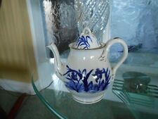 teapot with lid pattern birds & reeds GC