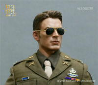 "Alert Line 1/6 US Army Uniform Captain America Costume Set AL100028B F 12"" Body"