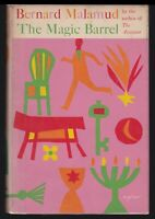1958 Vtg The Magic Barrel Bernard Malamud Short Stories First 1st Printing HC DJ