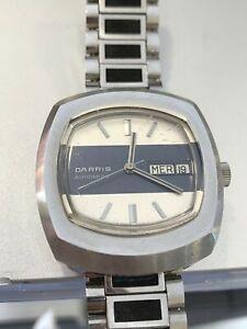 Darris orologio watch automatico uomo mens vintage working funzionante eta 2788