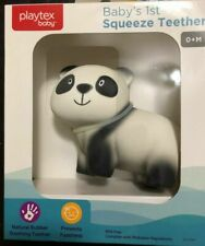 Playtex Baby - Baby's 1st  Natural Squeeze Rubber Soothing Teether PANDA B1