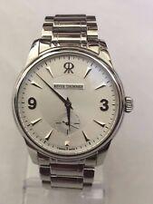 Revue Thommen Slimline Automatic Silver Dial Men's Swiss Steel Watch 15005-3132
