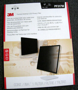 """3M™ Framed Desktop Privacy Filter for 17"""" Widescreen Monitor (16:10) - PF317W"""