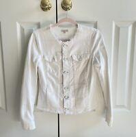 Calvin Klein Jeans Women's Drop Shoulder Raw Hem Utility Jacket small