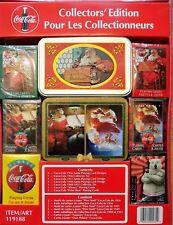 coffret jeux de cartes POKER PLAYING CARDS COCA COLA collector édition