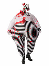 Evil Clown Inflatable Adult Costume