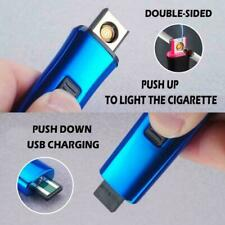 Rechargeable Windproof Flameless Electronic Cigarette Lighter USB AU