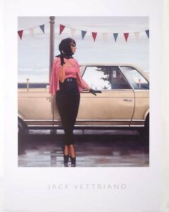 JACK VETTRIANO - Suddenly One Summer - Art Poster Large Print 80 x 60 cm