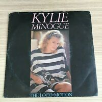 """Kylie Minogue_The Loco-Motion / Getting Closer_Vinile 45giri 7""""_1987 PWL Italy"""