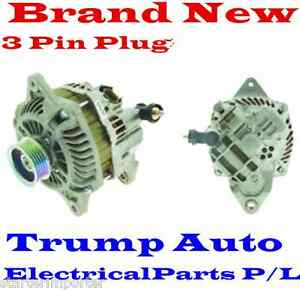 Alternator for Subaru Liberty engine EJ20E EJ25 2.0L 2.5L Petrol 98-05 3Pins