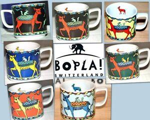 FAON BOPLA Porzellan Schweiz Espressotasse 0,09l Wildlife Serie, stapelbar