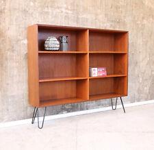 60er Teak Sideboard Regal Mid-Century 60s Teakwood Shelf Cabinet Vintage