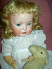 "Gorgeous antique German, Bahr & Proschild, 19"" long, 624 character baby doll"