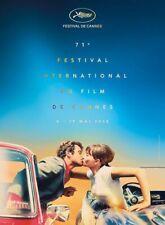 W529 Festival International Event Cannes Film 2018 Print Poster 12x18 24x36