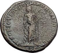 ELAGABALUS 218AD Nicopolis Ad Istrum ASCLPIUS MEDICINE GOD Roman Coin i57897
