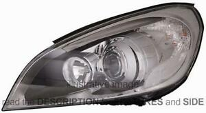 LHD Headlight Volvo S60-V60 2010-2013 Left Side 31299990