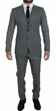 Dolce&Gabbana Woolen Single Breasted Suits for Men