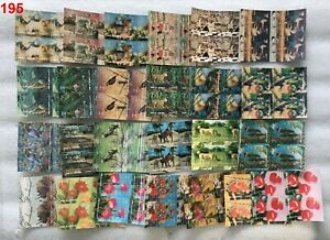 /// 4X UMM AL QUWAIN - MNH - 3D - BIRDS, DOGS, SPORTS, FLORA, CAMEL - 100 STAMPS