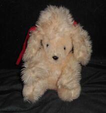 VINTAGE 1982 MTY INTERNATIONAL CREME POODLE PUPPY DOG STUFFED ANIMAL PLUSH TOY