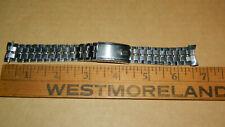 Bulova Accutron JB Champion vintage Stainless Steel bracelet 214 curved lug ends