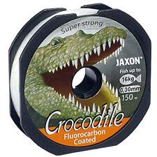 JAXON CROCODILE FLUOROCARBON COATED 150m Angelschnur Spule Monofile  �˜ 0,16-0,45