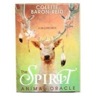The Spirit Animal Oracle Cards by Colette Baron-Reid Deck Tarot Educational Card