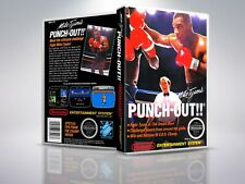 Mike Tyson's Punch OUT!! - NES - Remplacement -  Cover/Case - NO Game - PAL/US