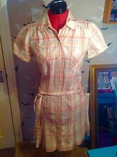 886d1dba1542 CHIC OASIS shirt dress, tie waist UK 10, 38 vgc, 37