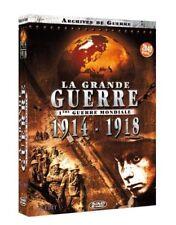 La Grande Guerre 1914 - 1918 (2 DVD) Archives de Guerre - NEUF