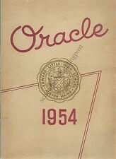 High School Yearbook Auburn Maine Edward Little High School Oracle 1954/No Notes