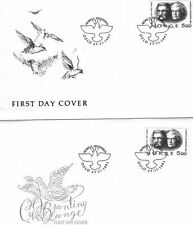 Norway 1981 nobel prize 2 FDC set