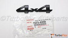 Toyota Tundra 2014-2017 TRD PRO Black 4X4 Tailgate Emblem 75473-0C050 Genuine