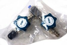NEW! AIRGAS DUAL SHUTOFF VALVE 3500 PSI