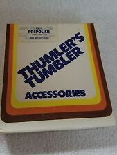THUMBLERS TUMBLER ROCK POLISHER ACCESSORIES 8OZ SEALED