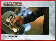 BATTLESTAR GALACTICA - Premiere Edition - Card #40 - War Game Tactic
