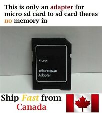 MicroSD to Standard SD card adapter Micro sd TF READER NO gb MEMORY onlyadapter