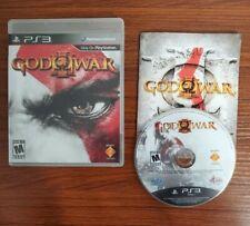 God of War III (Sony PlayStation 3, 2010) COMPLETE CIB PS3