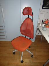 Topstar Open Art Bürostuhl silber anthrazit orange Lordoseunterstützung