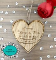 Personalised Teacher gift, End of Year / Term, Thank you / Leaving gift, Plaque