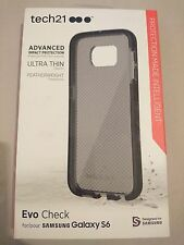 Genuine tech21 Evo Check Impact Protection Case for Samsung Galaxy S6 (Black)