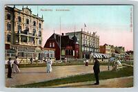 Kaiserstrasse Norderney Germany, Vintage Postcard