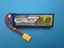 TURNIGY NANO-TECH 5000mAh 3S 11.1V 25C LIPO BATTERY TRAXXAS E-REVO SLASH ARRMA
