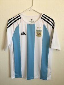 adidas argentina climalite jersey - youth xl Teen (15-16 Yr)womens medium- EUC