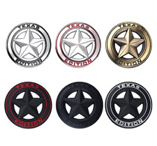 *NEW* 3D Metal TEXAS EDITION Pentagram Emblem Badge Car Decoration Car Styling
