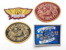 HELLS ANGELS KENT CUSTOM BIKE SHOW 1992,1993, 1996 ,1997 Patch Waistcoat, Jacket
