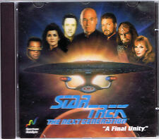 Star Trek: The Next Generation - A Final Unity (PC, 1995, Spectrum Holobyte)