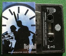 Nightfall Sophisticated Jazz Classics Coleman Hawkins + Cassette Tape - TESTED