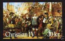 Denmark Scott 847 - Facit HS46 - booklet - Christian IV