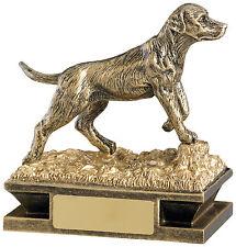 Shooting Award Retreiver Dog Trophy - FREE ENGRAVING